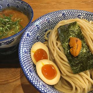 すっごい濃厚うにつけ麺(必死のパッチ製麺所 )