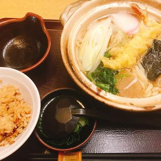 鍋焼きうどん(澤乃井 )