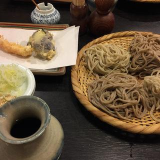 天ぷらそば(松翁 (まつおう))