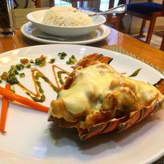 Lang Camaron Term ロブスターと海鮮のチーズ焼き