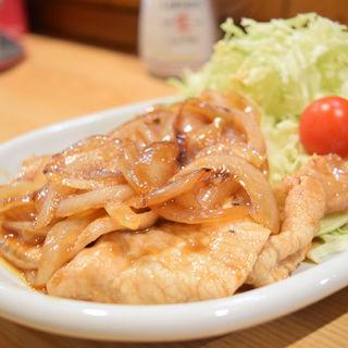 豚生姜焼き定食(北の恵 )