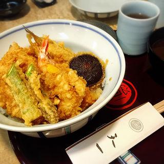 特製天丼(銀座 天一 自由が丘店 (ぎんざてんいち))