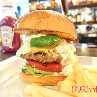 アボカドチーズバーガー タルタルトッピング(シェイクツリー バーガー&バー (shake tree burger&bar))
