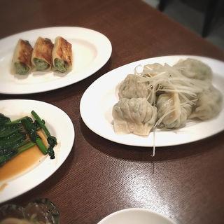 もちもち三鮮水餃子 6個(京華小吃 (ジンホア 銀座))