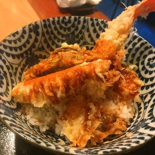 Aセット お蕎麦とミニ天丼(石はら 学芸大学店 )