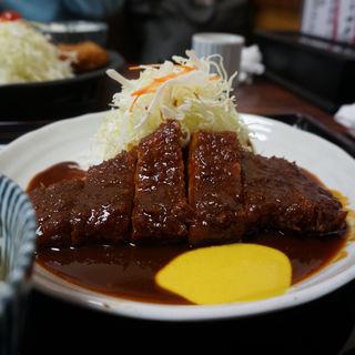 トンカツ定食(矢田とん )