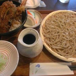 せいろとミニ天丼のセット(こま井 )