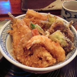 天丼(てんぷら天朝 (てんあさ))