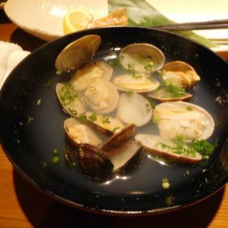 あさりの酒蒸し(とびっきり旨い酒と魚 東新漁港)