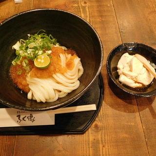 生醤油うどん(奈良うどんふく徳)