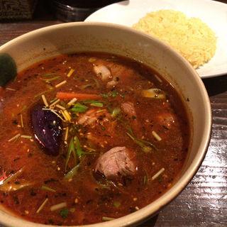 京鴨スープカリー(イエロースパイス)