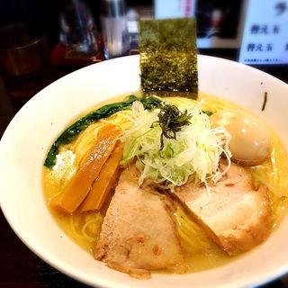 味玉塩中華そば(志奈そば 田なか セカンド (Shinasoba Tanaka second))