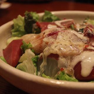 海鮮刺身カルパッチョサラダ(月膳 )