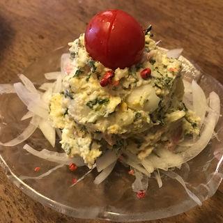 ポテトサラダ(こあら (山形料理と地酒とわいん「こあら」))