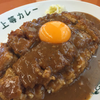 トンカツカレー 生卵トッピング(得正・上等カレー 岸和田店 )