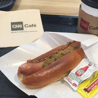 ホットドッグ スタンダード(CNN cafe (シーエヌエヌ カフェ))
