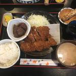 肉づくし定食(とんかつ 播 岩岡店 (トンカツ バン))