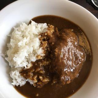 壱岐牛ハンバーグカレー(洋食と珈琲の店トロル )