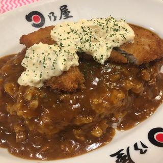 ハーフ&ハーフ(カキフライ&魚フライ+タルタル)(日乃屋カレー 茅場町店 )