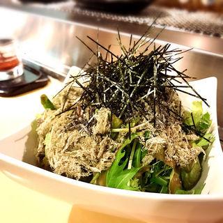 二種昆布のサラダ(かるびあ~の )