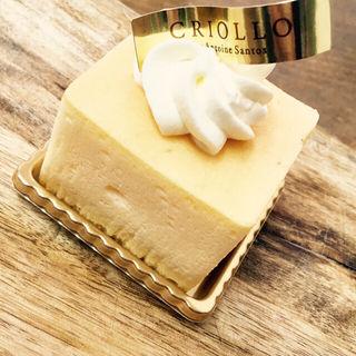 幻のチーズケーキ(エコール・クリオロ 中目黒店 )