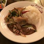 素揚げ野菜の欧風カレー