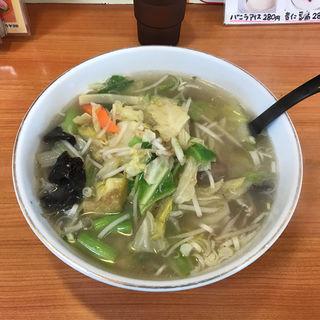 塩野菜湯麺(福来飯店 )