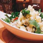パクチーポテトサラダ
