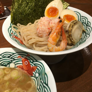 濃厚魚介とんこつつけ麺(三崎港ラーメン 三崎港本店)