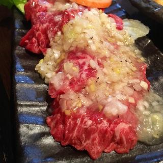 ネギ塩カルビ(焼肉こまち)