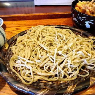 田舎蕎麦&ミニかき揚げ丼(ふくや )