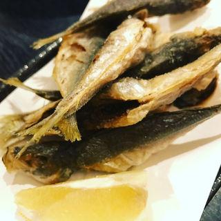 小アジの唐揚げ(山海料理 RAKUMI (さんかいりょうり らくみ))