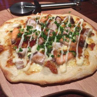 シーフードの照焼きピザ(響あい 堺東店 (ひびきあい))