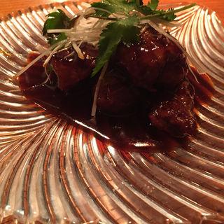 黒酢酢豚(オラ (hola))