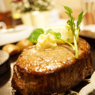 信州プレミアム牛肉 テンダーロインステーキ250gコース(ステーキのあすか)
