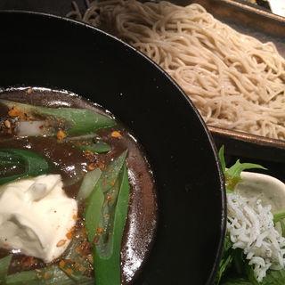 牛スジカレー蕎麦(蕎麦バル 1351)