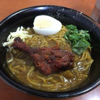 バングラディシュのカレーラーメン(大衆食堂シックダール 中野新井薬師店)