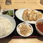 餃子定食(福徳 (フクトク))