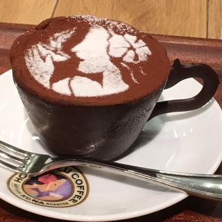 コーヒーカップティラミス(ホノルルコーヒー KITTE博多店)