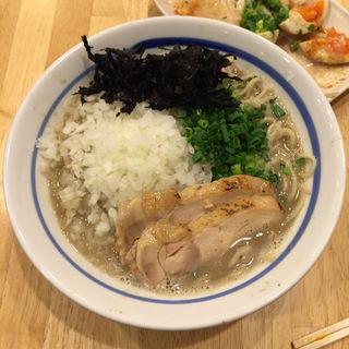 超濃厚煮干し中華そば  玉ねぎトッピング(麺屋 ひろ八)