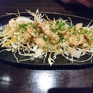 牛ミノ鉄板焼(博多餃子 チャオズ)