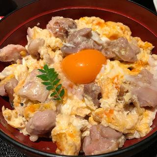塩親子重定食(鶏繁 大丸東京店 )