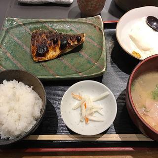 焼魚天ぷら定食(魚匠 梶 (kaji うおしょう かじ))