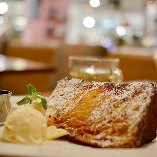 バターメープルフレンチトースト(ハーフ)(COOKCOOP CAFE  アトレ川崎店)