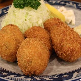 カキフライ(魚河岸 丸天 魚河岸店 (うおがし まるてん))