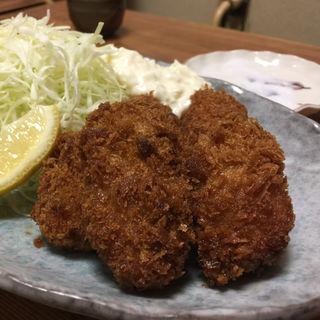 カキフライ(ふじ芳 (ふじよし))