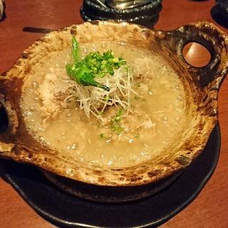 豚軟骨のトロトロ揚げ煮込み(木乃芽)