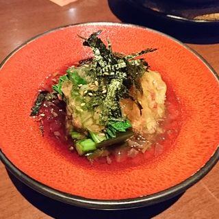 糸島野菜のおひたし(木乃芽)