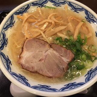 メンマめん(博多麺房 赤のれん (はかためんぼう あかのれん))