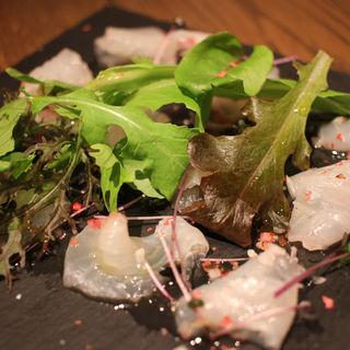 鮮魚のカルパッチョ(BEYOND)